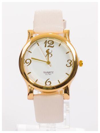 Złoty damski zegarek