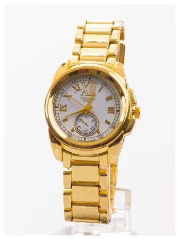 Złoty damski zegarek. Bardzo kobiecy. Mała tarcza. Delikatny.                                  zdj.                                  1