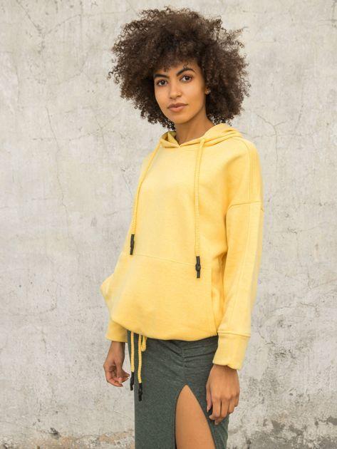 Żółta bluza Replicating                              zdj.                              3