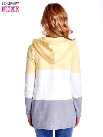 Żółta bluza w szerokie kolorowe pasy                                  zdj.                                  6
