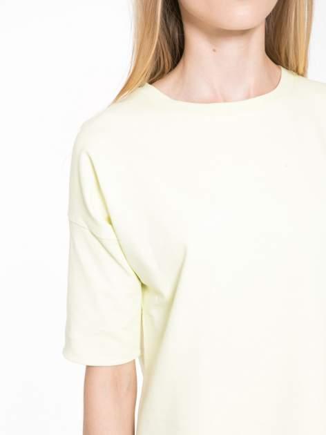 Żółta bluza z suwakiem z tyłu                                  zdj.                                  6