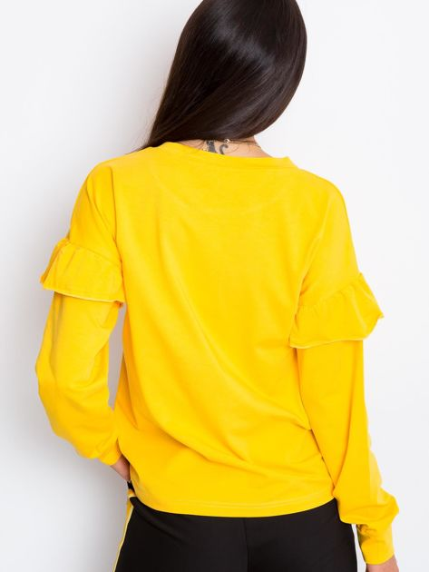Żółta bluzka Dulce                              zdj.                              2