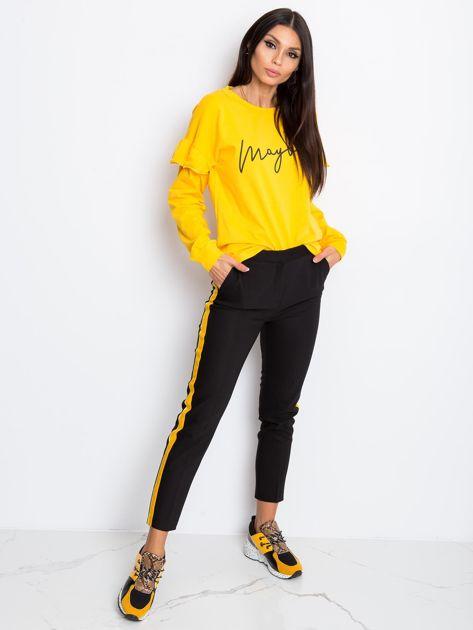 Żółta bluzka Dulce                              zdj.                              4