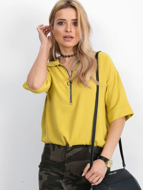 Żółta bluzka Hokum                              zdj.                              1