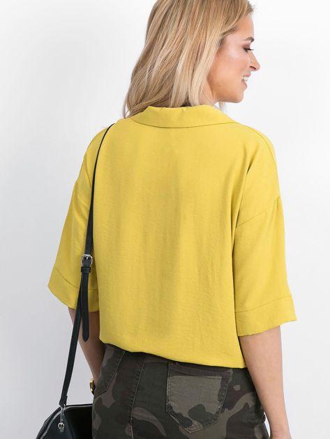 Żółta bluzka Hokum                              zdj.                              2