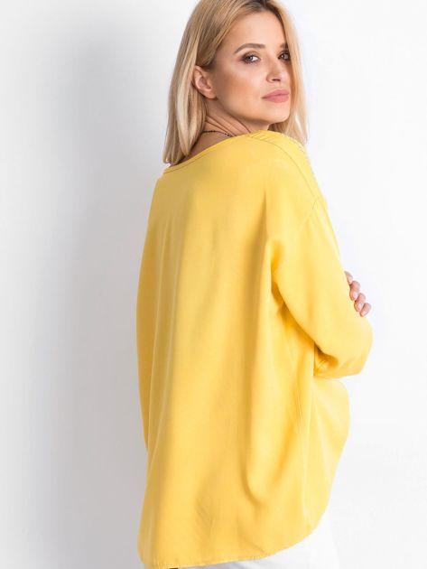 Żółta bluzka Idaho                              zdj.                              2