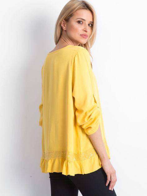 Żółta bluzka Nostalgic                              zdj.                              2