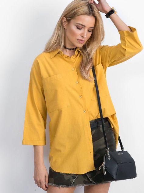 Żółta koszula Carnivore                              zdj.                              5