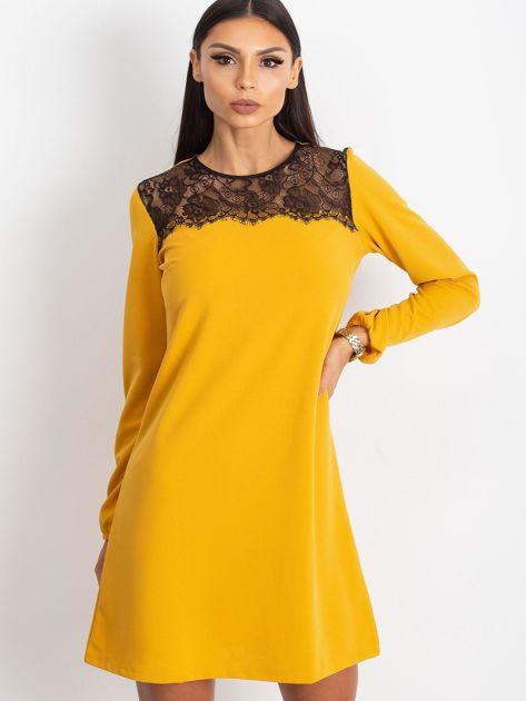 Żółta sukienka Bombay                              zdj.                              1