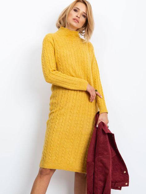 Żółta sukienka Evermore                              zdj.                              1