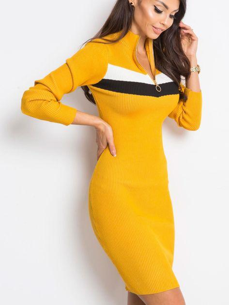 Żółta sukienka Freefall                              zdj.                              3