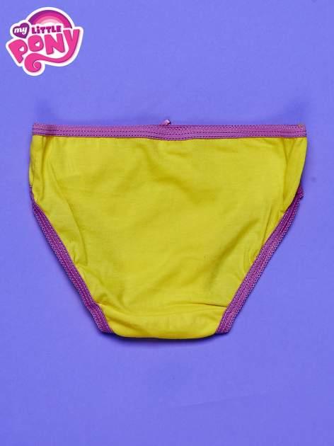 Żołte bawełniane majtki dla dziewczynki MY LITTLE PONY                                  zdj.                                  2