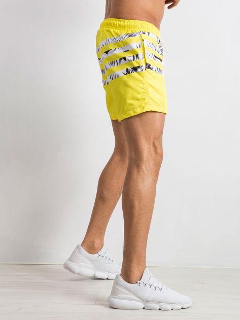 Żółte szorty męskie Travis                              zdj.                              3