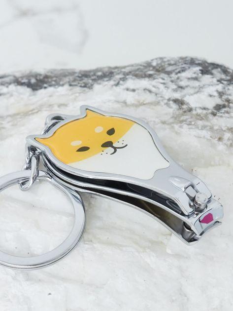 Żółty breloczek do kluczy                              zdj.                              2