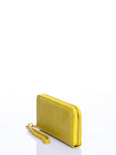 Żółty portfel z rączką                                  zdj.                                  2