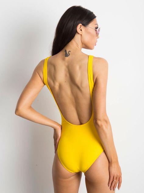 Żółty strój kąpielowy Deepest                              zdj.                              2