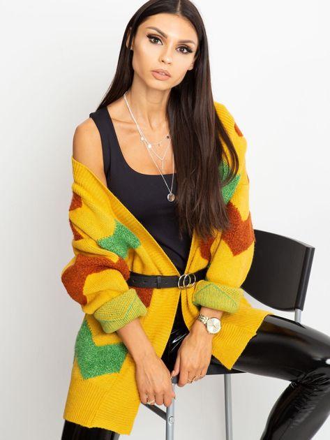 Żółty sweter Fabulous                              zdj.                              1