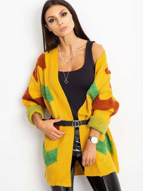 Żółty sweter Fabulous                              zdj.                              5