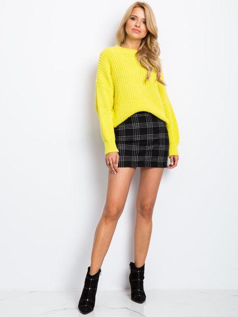 Żółty sweter Zoe                              zdj.                              4