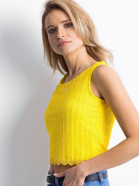 Żółty top Majesty                              zdj.                              3