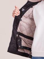 4F Czarna kurtka narciarska z odpinanym kapturem                                  zdj.                                  6