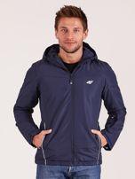 4F Granatowa kurtka narciarska dla mężczyzny                                  zdj.                                  1