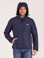 4F Granatowa kurtka narciarska dla mężczyzny                                  zdj.                                  6