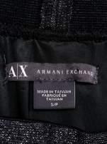 ARMANI Czarna plisowana spódnica two tone                                  zdj.                                  4