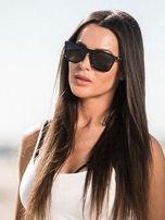 ASPEZO Okulary przeciwsłoneczne damskie POLARYZACYJNE czarne BOSTON Etui skórzane, etui miękkie oraz ściereczka z mikrofibry w zestawie                                  zdj.                                  1