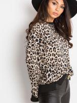 Beżowa bluza Panthera                                  zdj.                                  3