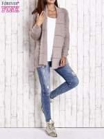 Beżowy sweter ze złotymi suwakami                                                                          zdj.                                                                         8
