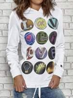 Biała bluza z kapturem Funk n Soul                                  zdj.                                  5