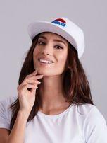 Biała czapka z daszkiem                                  zdj.                                  1