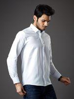 Biała koszula męska regular fit                                  zdj.                                  8