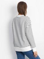 Biało-czarna bluza Continuously                                  zdj.                                  2