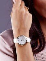 Biały Zegarek Damski z Motylem                                  zdj.                                  2