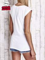 Biały t-shirt MINNIE MOUSE                                  zdj.                                  5