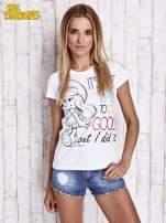 Biały t-shirt SMERFY                                  zdj.                                  3