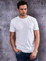 Biały t-shirt męski                                   zdj.                                  1