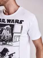 Biały t-shirt męski STAR WARS                                  zdj.                                  8