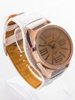 Biały zegarek męski na rękę                                  zdj.                                  2