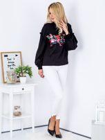 Bluza czarna z etnicznym haftem                                  zdj.                                  4