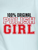 Bluza damska 100% ORIGINAL POLISH GIRL miętowa                                  zdj.                                  2