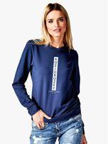 Bluza damska KOZIOROŻEC znak zodiaku granatowa                                  zdj.                                  1