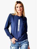 Bluza damska PANNA znak zodiaku granatowa                                  zdj.                                  1