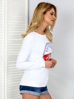 Bluza damska VICTOIRE GIRLS biała                                  zdj.                                  3