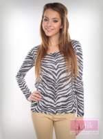 Bluzka z motywem zebry                                  zdj.                                  4