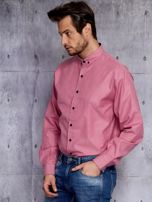 Różowa koszula męska PLUS SIZE                                  zdj.                                  2