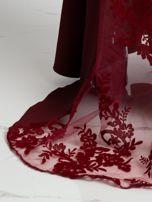 Bordowa sukienka Majesty                                  zdj.                                  3