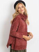Bordowy sweter Lexie                                  zdj.                                  3